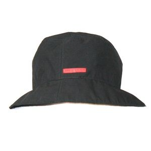 Prada Black Bucket Hat